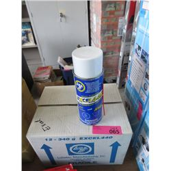Case of Excel 440 Spray Lubricant
