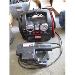 Battery Booster Pac & Belt Sander
