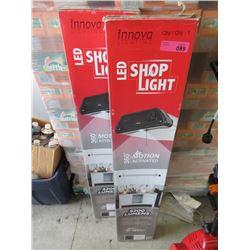 2 LED Shop Lights - Store Return