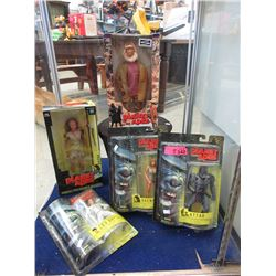 """5 """"Planet of the Apes"""" Hasbro Action Figures"""