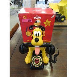 "New Disney ""Pluto"" Talking Phone with Box"