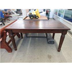 Wood Farm Style Dining Table