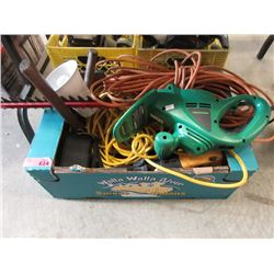 Electric Hedge Trimmer, Extension  Cords & More