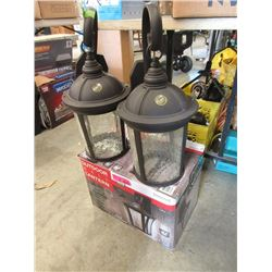 3 Outdoor Wall Lanterns - Store Returns
