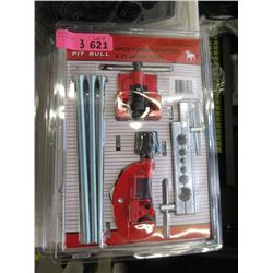 3 New 6 Piece Tubing Cutting & Flaring Tool Sets