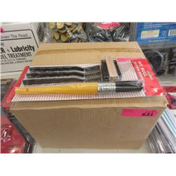 Case of 10 New 5 Piece Wire Brush Sets