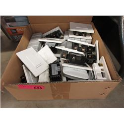 Box of GE Smart Home Plugs & Light Switches