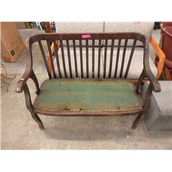 Antique Settee Frame - Victorian ca1880