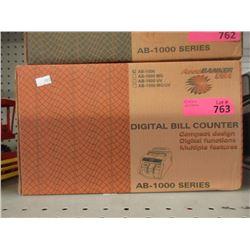 New USA Digital Bill Counter - Model AB-1000