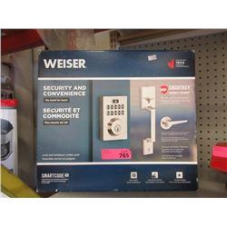 Weiser Lock & Handle Set Combo Pack