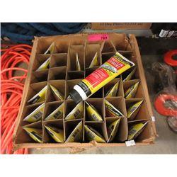 Case of 24 Tubes of Muffler Cement