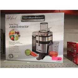 Hamilton Beach Super Shoot Juice Extractor