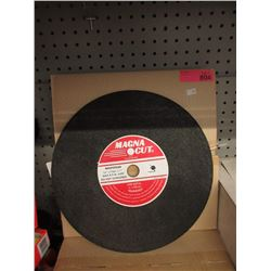 "Case of 10 New 14"" Grinding Wheels"