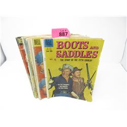 10 Vintage 10¢ Dell Comic Books