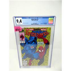 "Graded 1991  "" Spider-Man #15"" Marvel Comic"