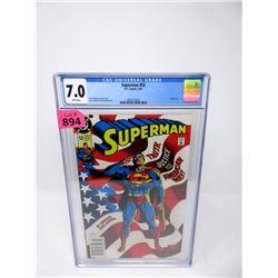 "Graded 1991  ""Superman #53"" DC Comic"
