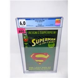 "Graded 1993  ""Action Comics #687"" DC Comic"
