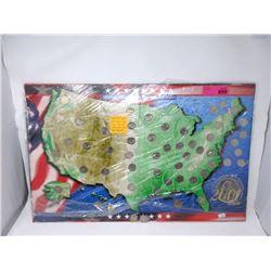 Set of 50 USA State Quarter Set w/ Year 2000 $1