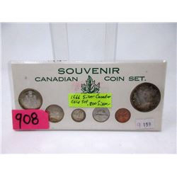 1966 Canadian 80% Silver Coin Set