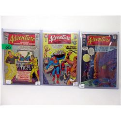 "3 ""Adventure Comics"" 12¢ DC Comics"