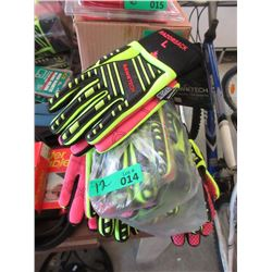 12 Pairs of New XL Rawktech Safety Gloves
