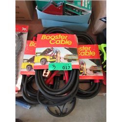 3 Sets of New 12 Foot Jumper Cables