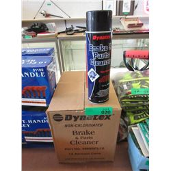 Case of 12 Aerosol Brake & Parts Cleaner