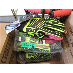 12 Pairs of New Large Rawktech Safety Gloves