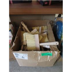 "Case of New 1 x 6"" Whisk Brooms - Approximately 30"