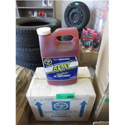 Case of Lube Tec Synthetic Oil Supplement