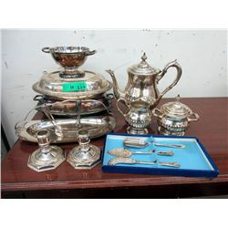 Vintage Silver Plated Table Ware