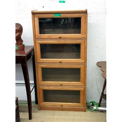 Small Four Door Barrister Bookcase