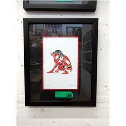 Richard Shorty Framed Print - Frog Dancer