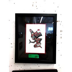 Richard Shorty Framed Print - Transformation