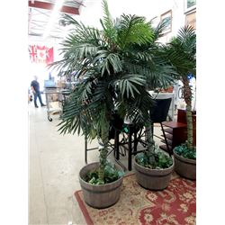 Six Foot Tall Imitation Palm Tree