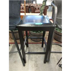 """New 30"""" Bar Stool with Bonded Leather Top"""