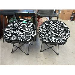 2 Small Pet Moon Chairs - Store Returns
