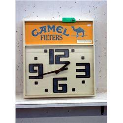 "Vintage ""Camel Cigarette"" Advertising Wall Clock"