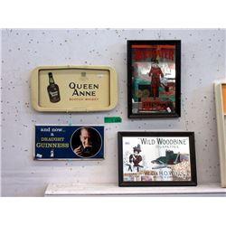 4 Piece Lot of Advertising Memorabilia