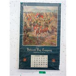 1956 Hudson's Bay Company Calendar