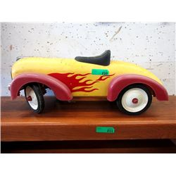 Vintage Style Child's Riding Hot Rod Toy Car