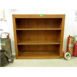 3 Shelf Wood Bookcase