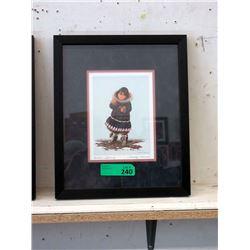 Framed Dorothy Francis Print - Artic Spring