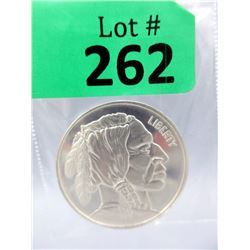 1 Oz First Nations/Liberty .999 Silver Round