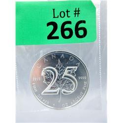 1Oz 2013 Canada .9999 Silver Maple LeafCoin