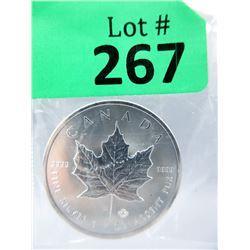 1Oz 2019 Canada .9999 Silver Maple LeafCoin