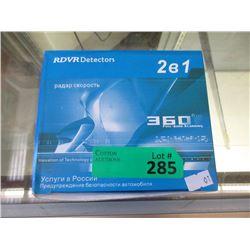 New RDVR Detector - (DVR + Radar Detector)