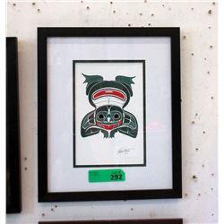 Richard Shorty Framed Print - Frog
