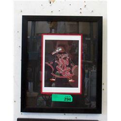 Richard Shorty Framed Print - Wolf Dancer
