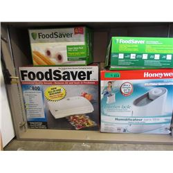 Honeywell Humidifier & Food Saver w/ Vacuum Rolls